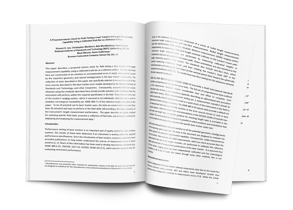 Get the Whitepaper: NIST Interim Field Test Procedure