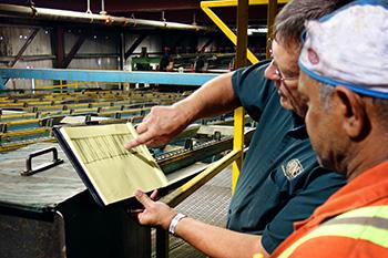 Brunson Sawmill Alignment Solution