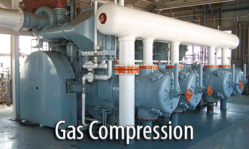 Gas compression alignment services